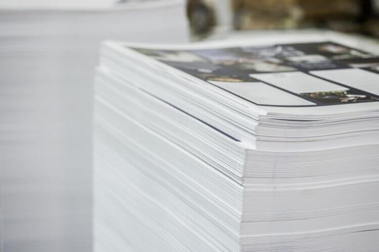 کاغذ برای چاپ کاتالوگ