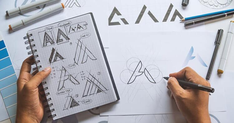 طراحی لوگو و برند بوک