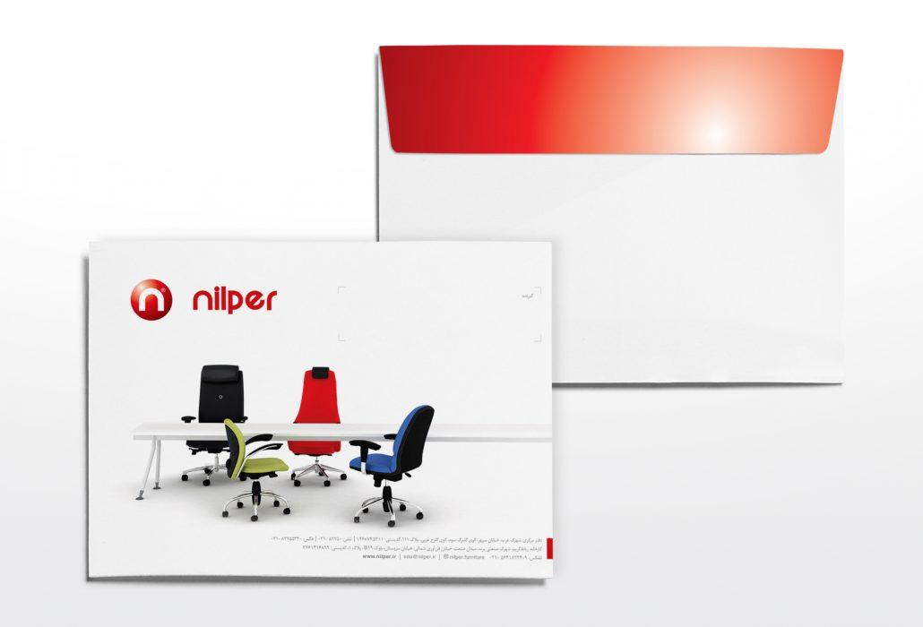 طراحی و چاپ ست اداری پاکت A4 و سربرگ و کارت ویزیت