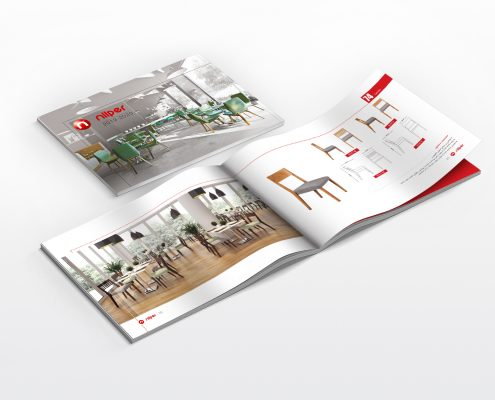 جذب مشتری با طراحی بروشور و کاتالوگ