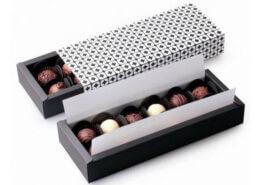 طراحی جعبه شکلات و شیرینی