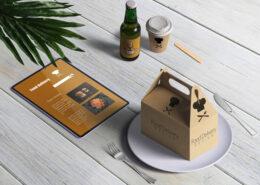 جعبه های مواد غذایی