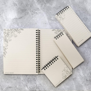 ست دفتر یادداشت خط دار